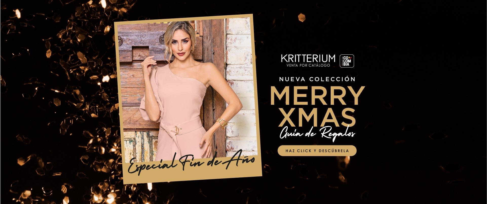 coleccion merry xmas kritterium venta por catalogo
